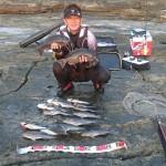 黒島「女瀬」夜釣りの釣果30.11.18 (2)
