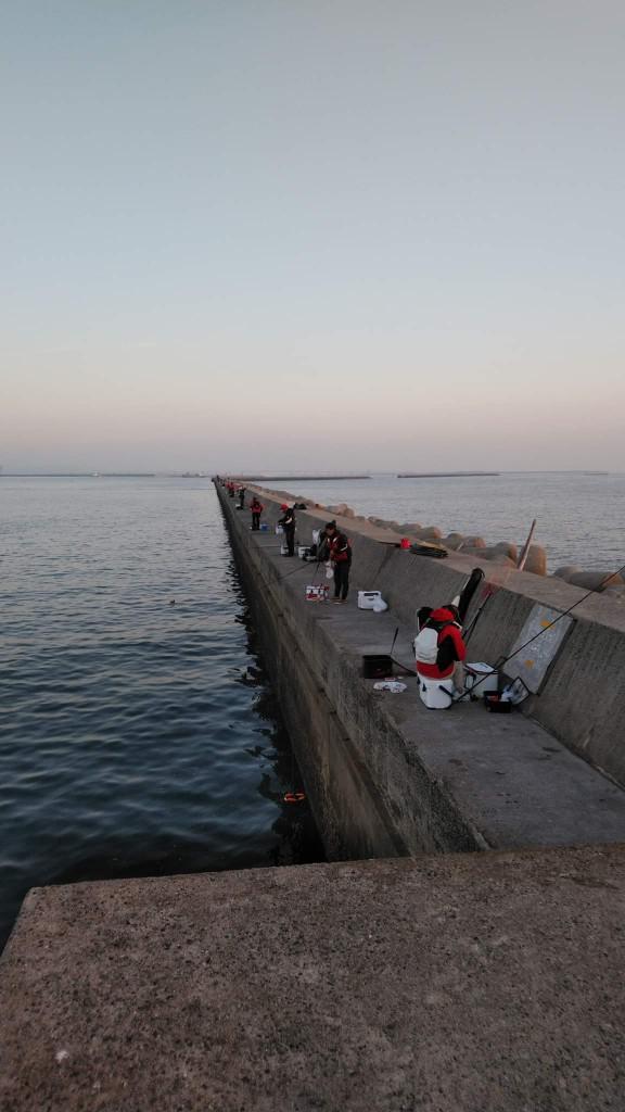 釣り風景北側