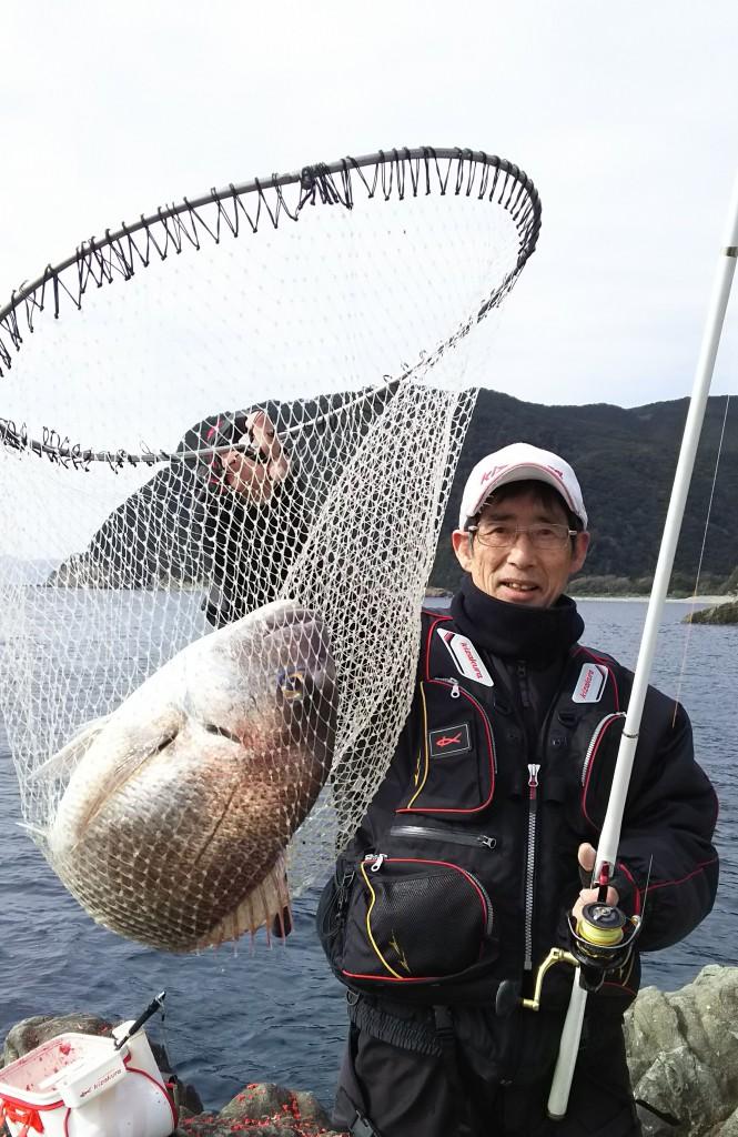 ブイダッシュにて60cmの真鯛が来ました