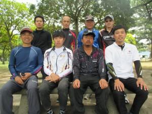 R1年5月26日チヌ釣大会の参加者