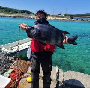 64cm4.15㎏のビッグサイズで大満足。改めてこの釣り場のポテンシャルの高さを実感しました。20210508_155155